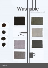 PROPOSING THE CHOSEABLE FABRICS AND BUTTONS